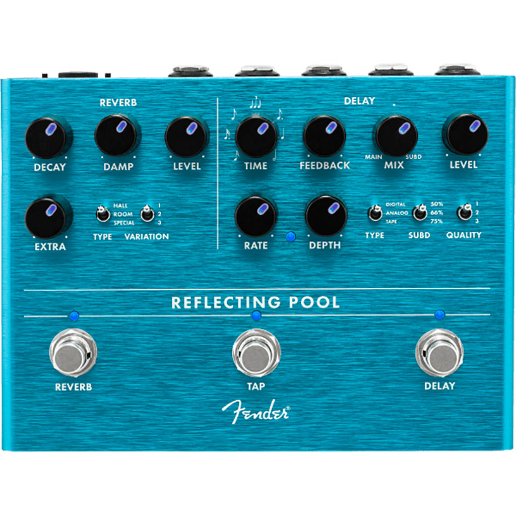 Fender - Reflecting Pool Delay/Reverb Pedal