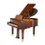 Kayserburg - GH-148 Heritage Series Baby Grand Piano - Mahogany Polish