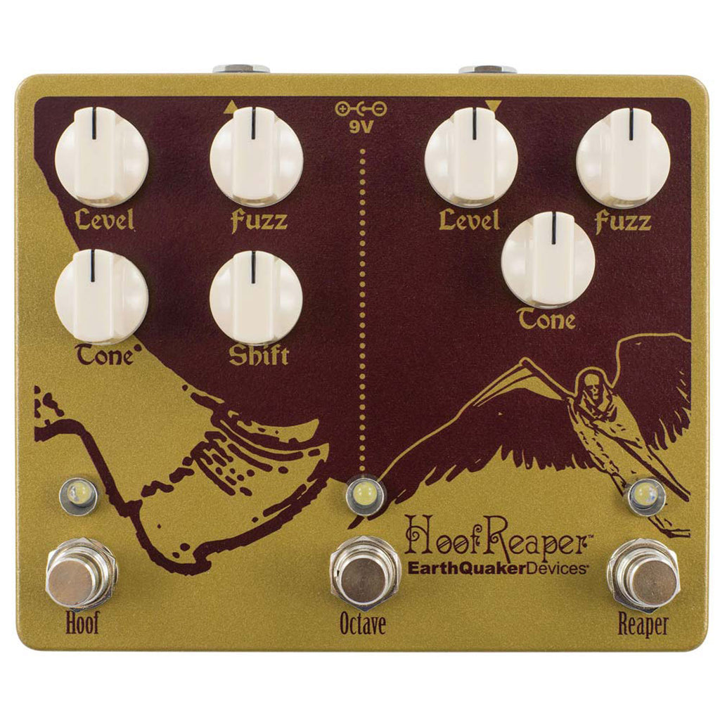 Earthquaker Devices - Hoof Reaper 2 - Dual Fuzz