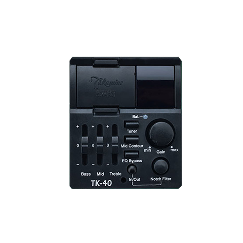 Takamine - TK40 Acoustic Preamp - Black