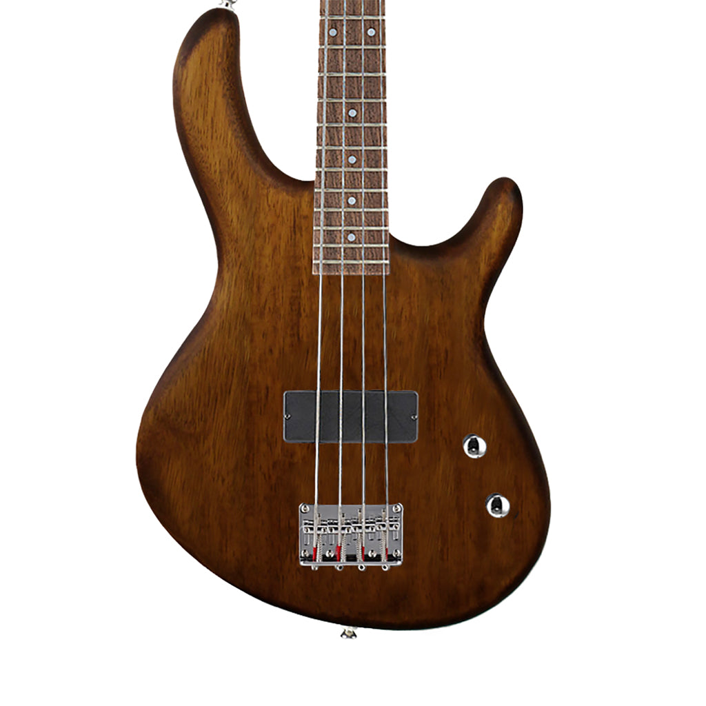 Cort Action Junior OPW 3/4 Open Pore Bass - Walnut