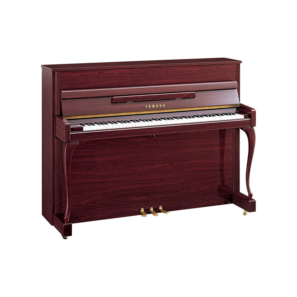 Yamaha JX113CP Upright Piano - Polished Mahogany