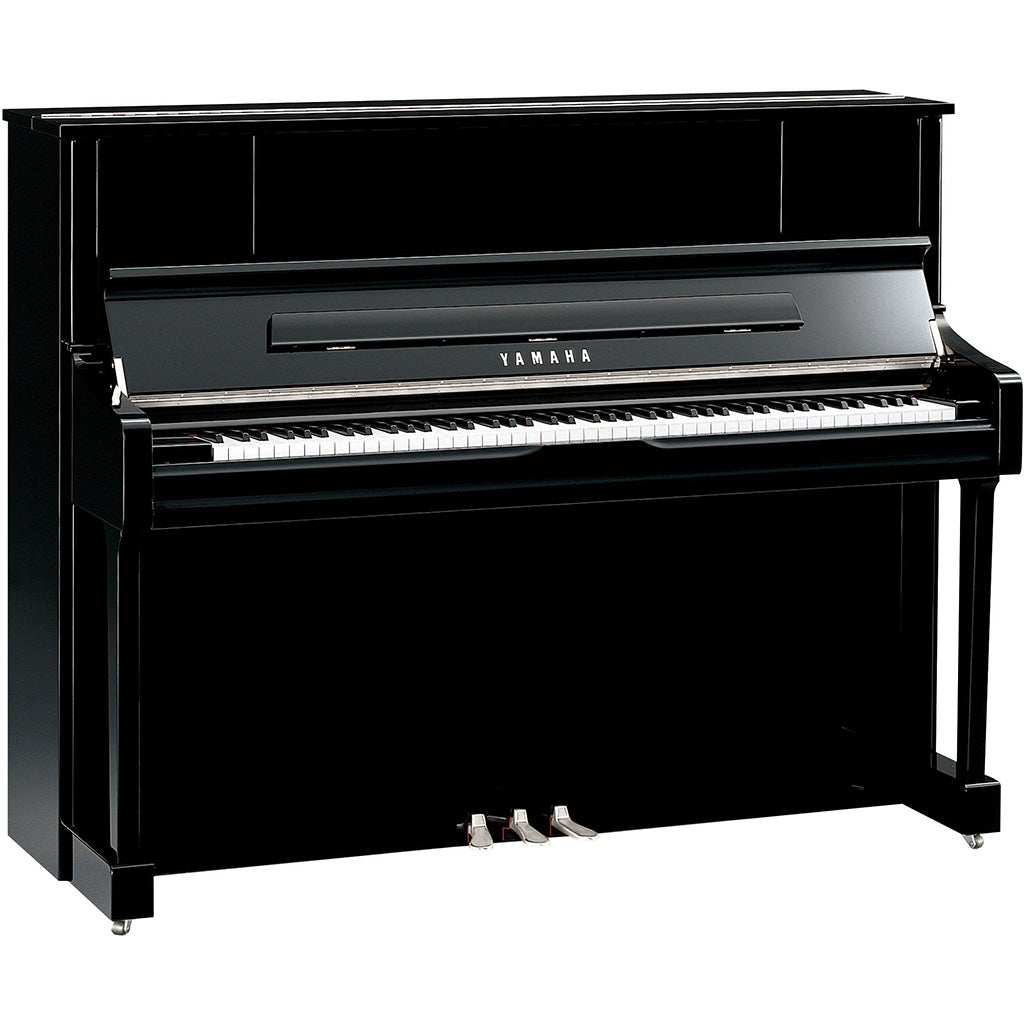 Yamaha U1J Upright Piano - Polished Ebony Chrome