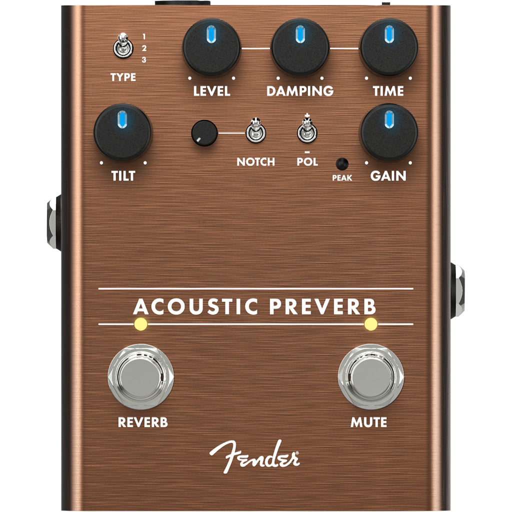 Fender - Acoustic Preamp/Reverb