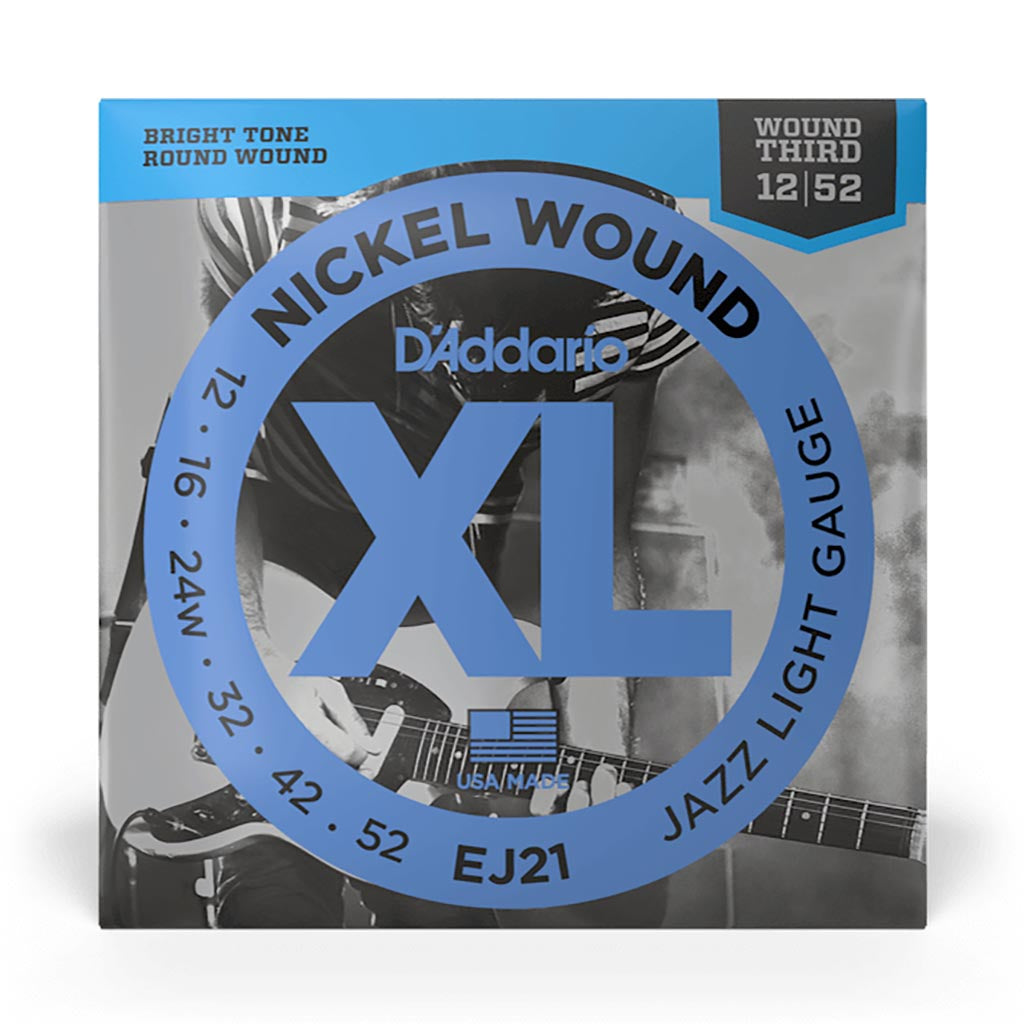 D'Addario - EJ21 - XL Jazz Lite Nickel Wound - Electric Guitar Strings