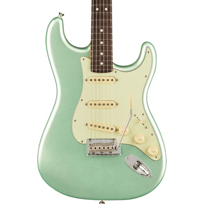 Fender - American Professional II Stratocaster® - Rosewood Fingerboard - Mystic Surf Green\