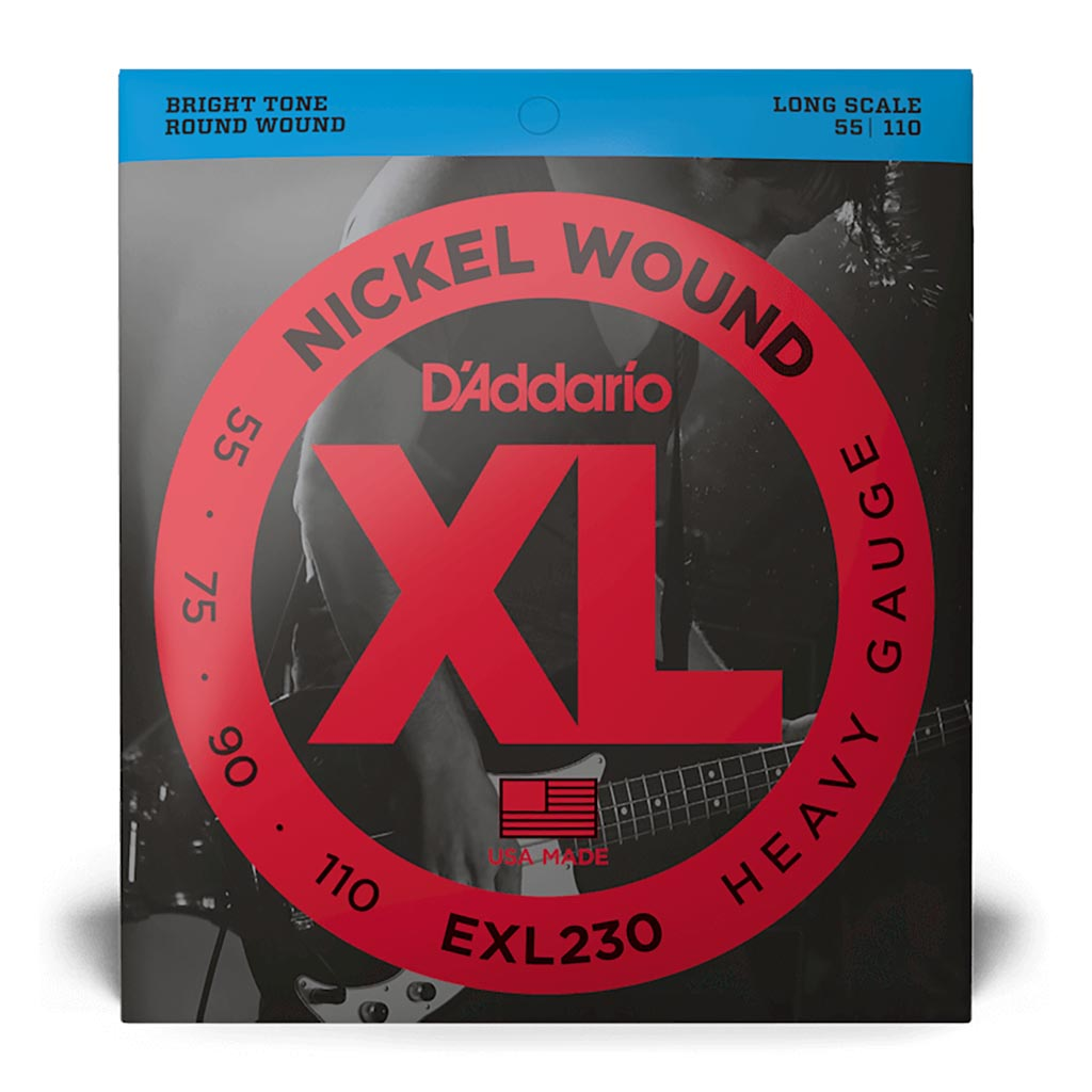 D'Addario - EXL230 - Bass XL 55 - 110 Long Scale - Bass Strings