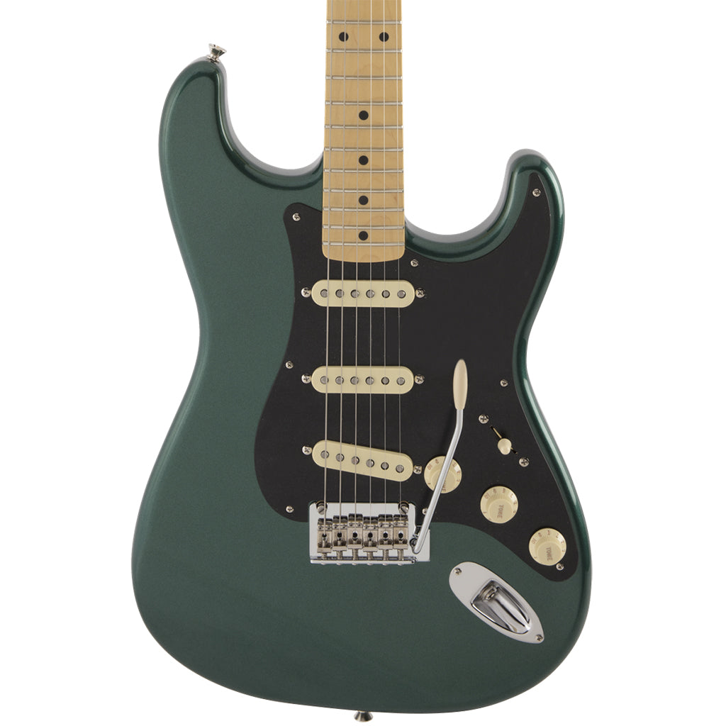Fender - Made in Japan Hybrid 50s Stratocaster® - Maple Neck - Sherwood Green Metallic