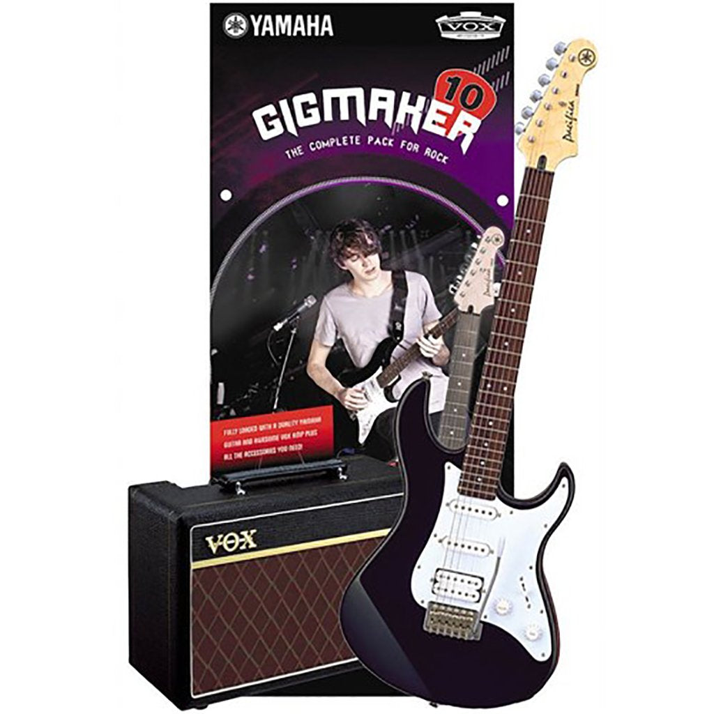 Yamaha Gigmaker 10 Electric Guitar Pack - Black