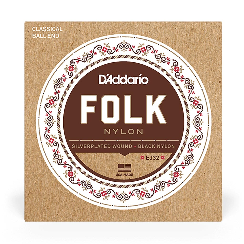 D'Addario - EJ32 - Nylon Ball End 28-45 - Classical Guitar Strings