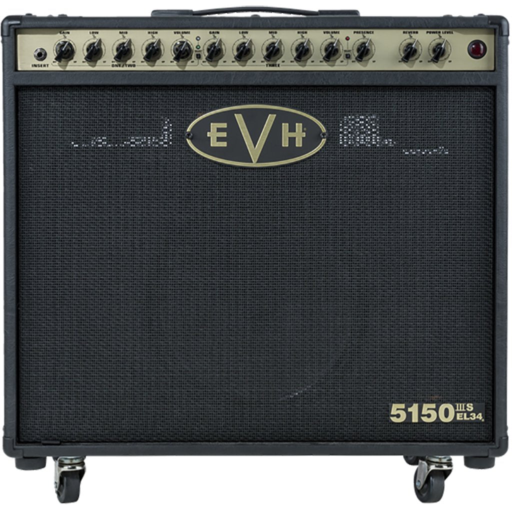 EVH5150III 50w EL34 1x12 Combo Amplifier - Black