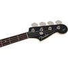 Fender - Made in Japan Aerodyne II Jazz Bass® - Rosewood Fingerboard - Gun Metal Blue