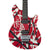 EVH Wolfgang Special - Red, Black, White - Ebony - Hero