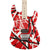 EVH Striped Series - Red with Black Stripes - Hero
