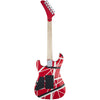 EVH Striped Series 5150 - Red, Black, White - Black