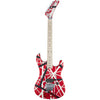 EVH Striped Series 5150 - Red, Black, White - Front