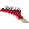 EVH Striped Series 5150 - Red, Black, White - Headstock