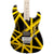 EVH Striped Series - Black with Yellow Stripes - Hero