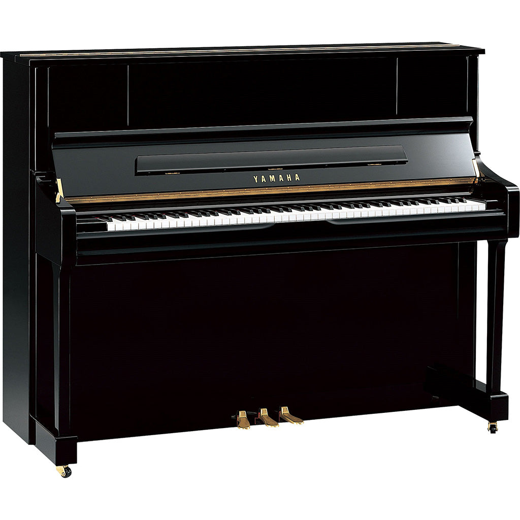 Yamaha U1J Upright Piano - Polished Ebony