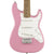 Squier Mini Strat V2 Pink - Hero