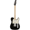 Squier Contemporary Telecaster HH - Black Metallic - Maple - Front
