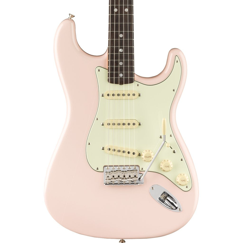 Fender - American Original '60s Stratocaster - Shell Pink - Rosewood Fingerboard