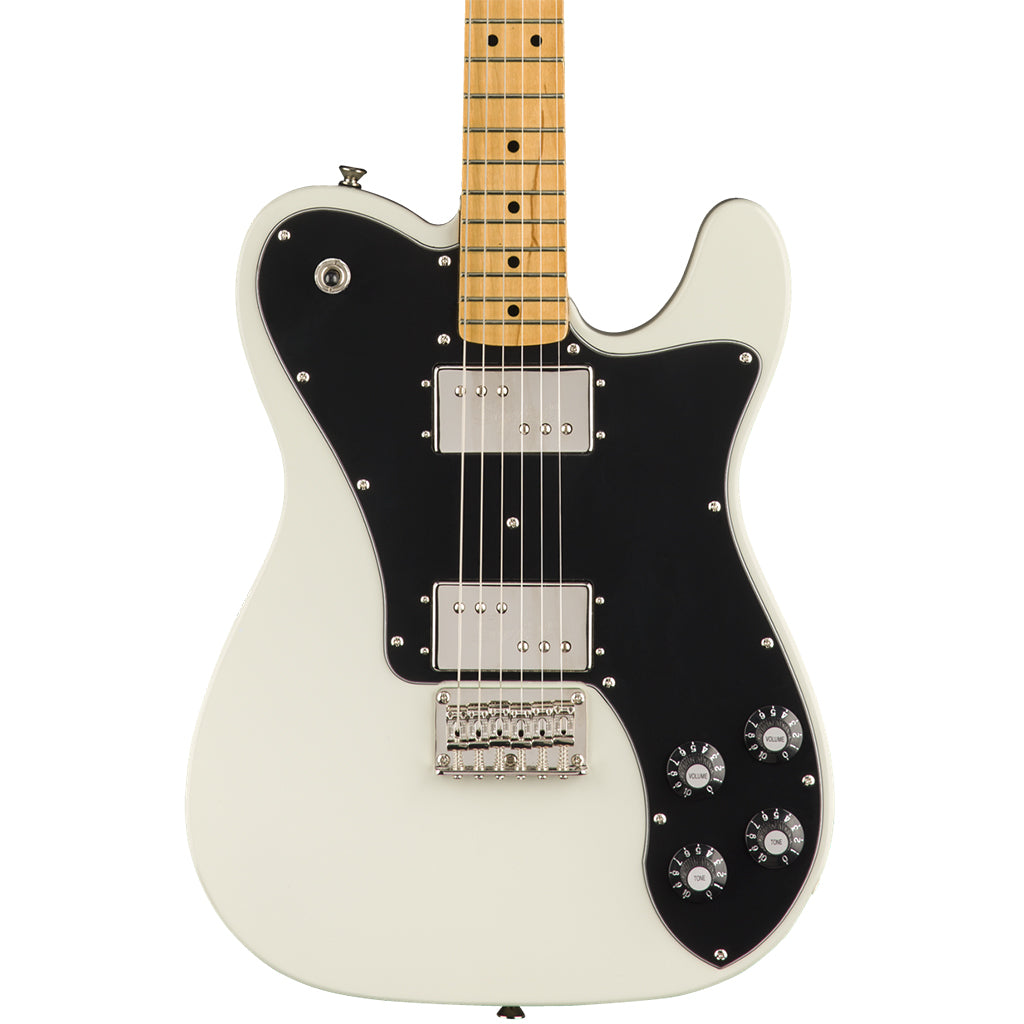 Squier Classic Vibe Telecaster Deluxe - Olympic White - Maple Neck