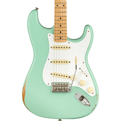 Fender - Vintera Road Worn® 50s Stratocaster® - Maple Fingerboard - Surf Green