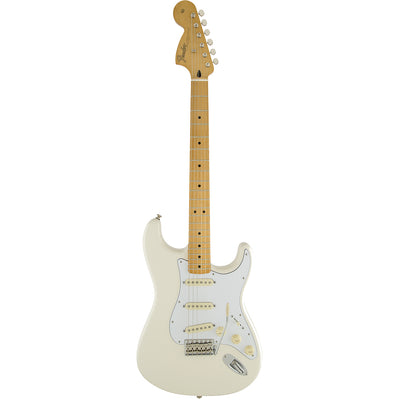 Fender Jimi Hendrix Stratocaster - Olympic White- Maple Neck - Full Body