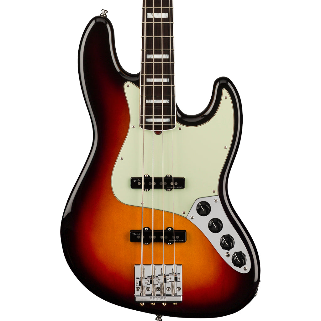 Fender - American Ultra Jazz Bass - Ultra Burst - Rosewood Fingerboard