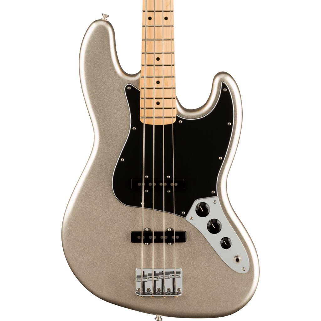 Fender - 75th Anniversary Jazz Bass® - Maple Fingerboard - Diamond Anniversary