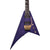 Jackson - Pro Series Rhoads RR24Q - Transparent Purple - Ebony Fingerboard