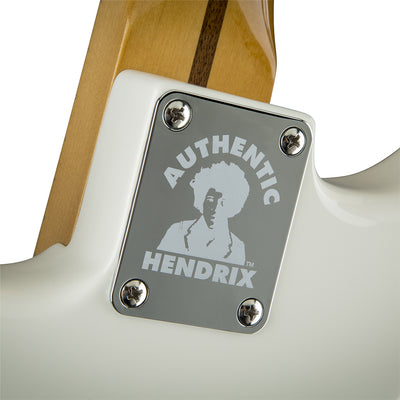 Fender Jimi Hendrix Stratocaster - Olympic White- Maple Neck - Authentic Hendrix