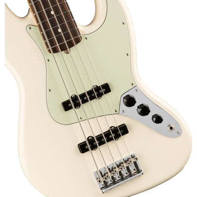 Fender American Professional Jazz Bass V Rosewood Fretboard - Olympic White
