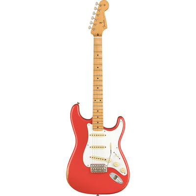 Fender - Vintera Road Worn® 50s Stratocaster® - Maple Fingerboard - Fiesta Red'