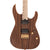 Charvel - Pro-Mod DK24 HH HT M Mahogany with Figured Walnut - Maple Fingerboard - Natural