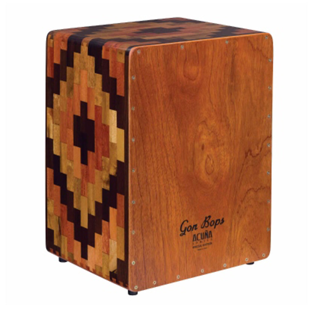 Gon Bops - Alex Acuna - Special Edition Cajon - Peru With Bag