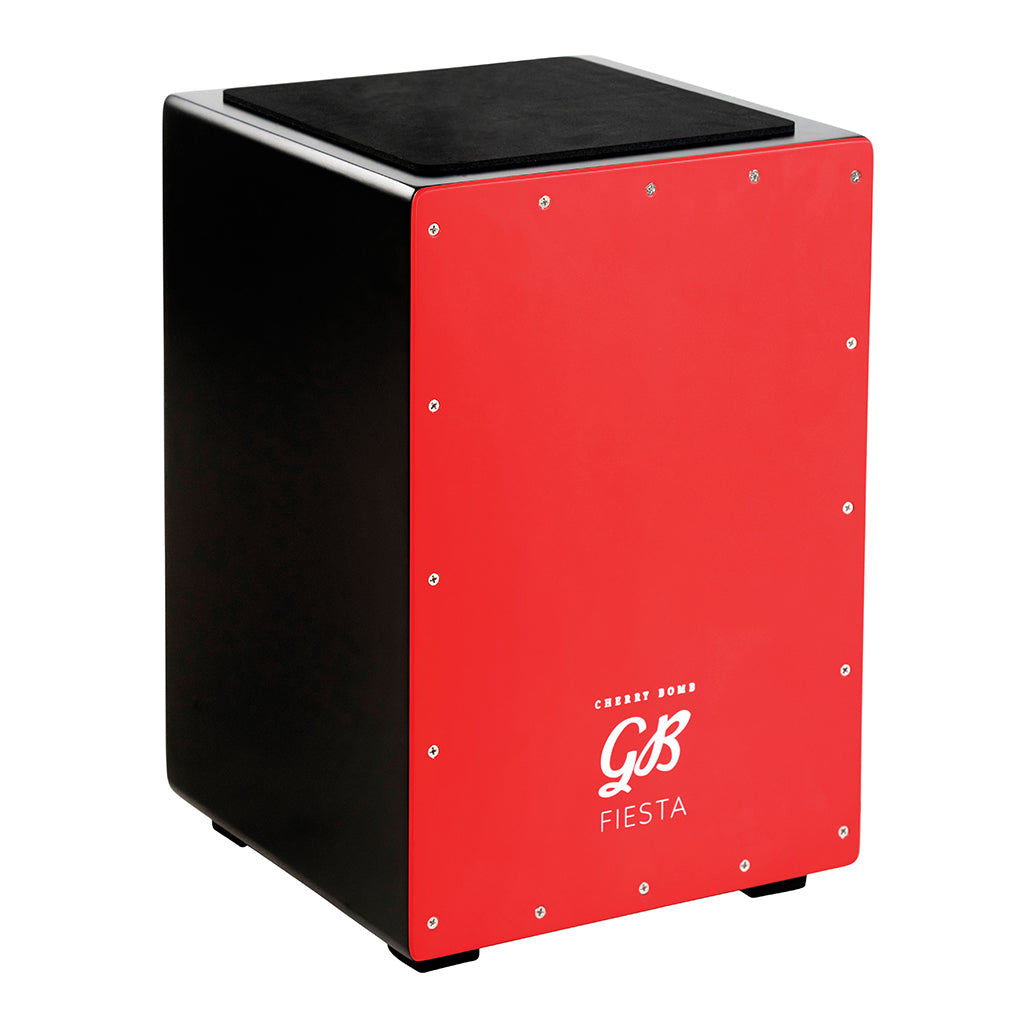Gon Bops - Fiesta Cherry Bomb Cajon - With Internal Snare - Thai