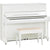 Yamaha U1J Upright Piano - Polished White
