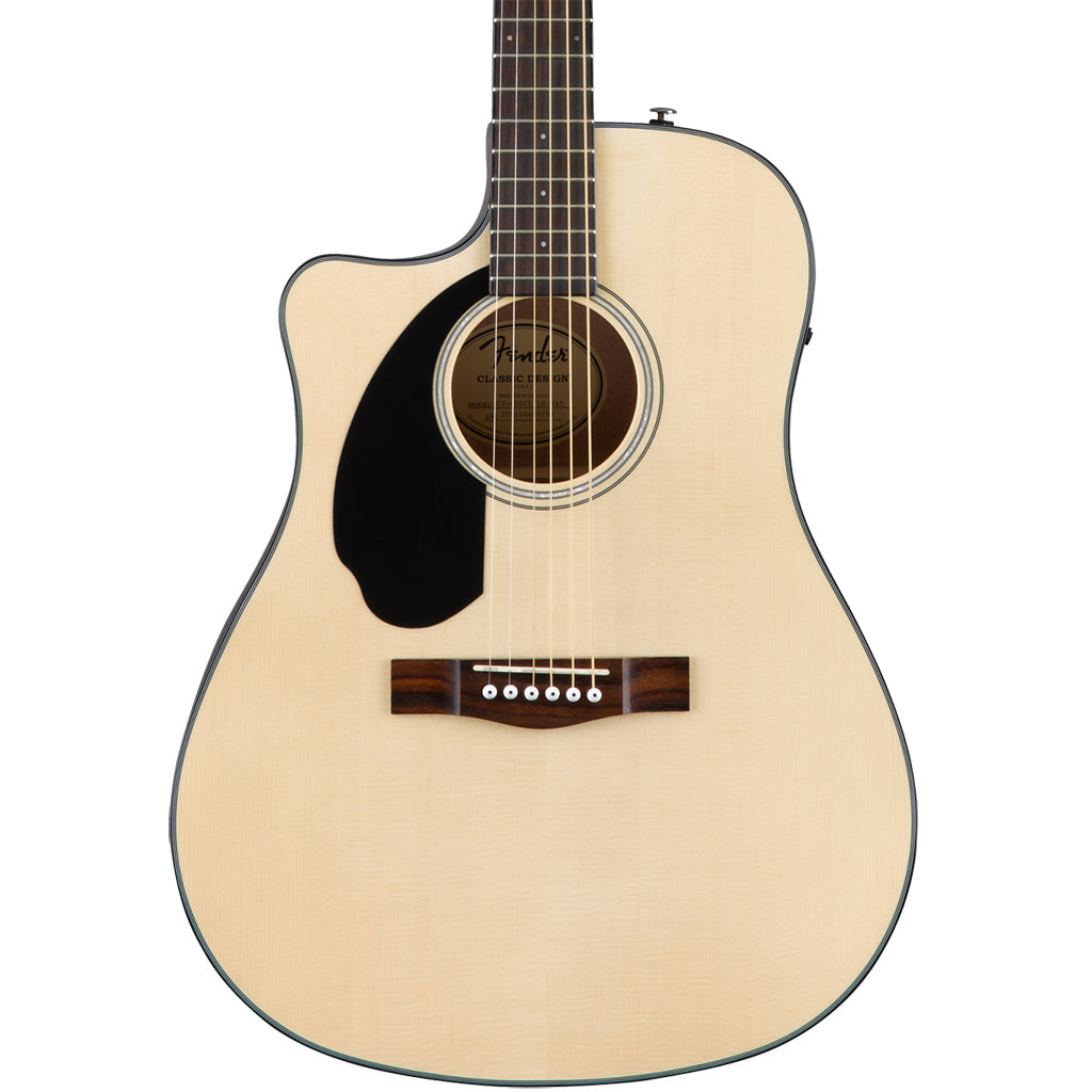 Fender CD-60SCE Left Hand Acoustic Guitar