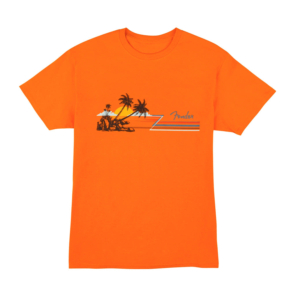 Fender - Hang Loose Unisex T-Shirt - Orange