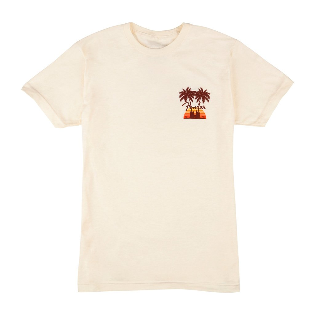 Fender - Twin Palms T-Shirt - Tan Large