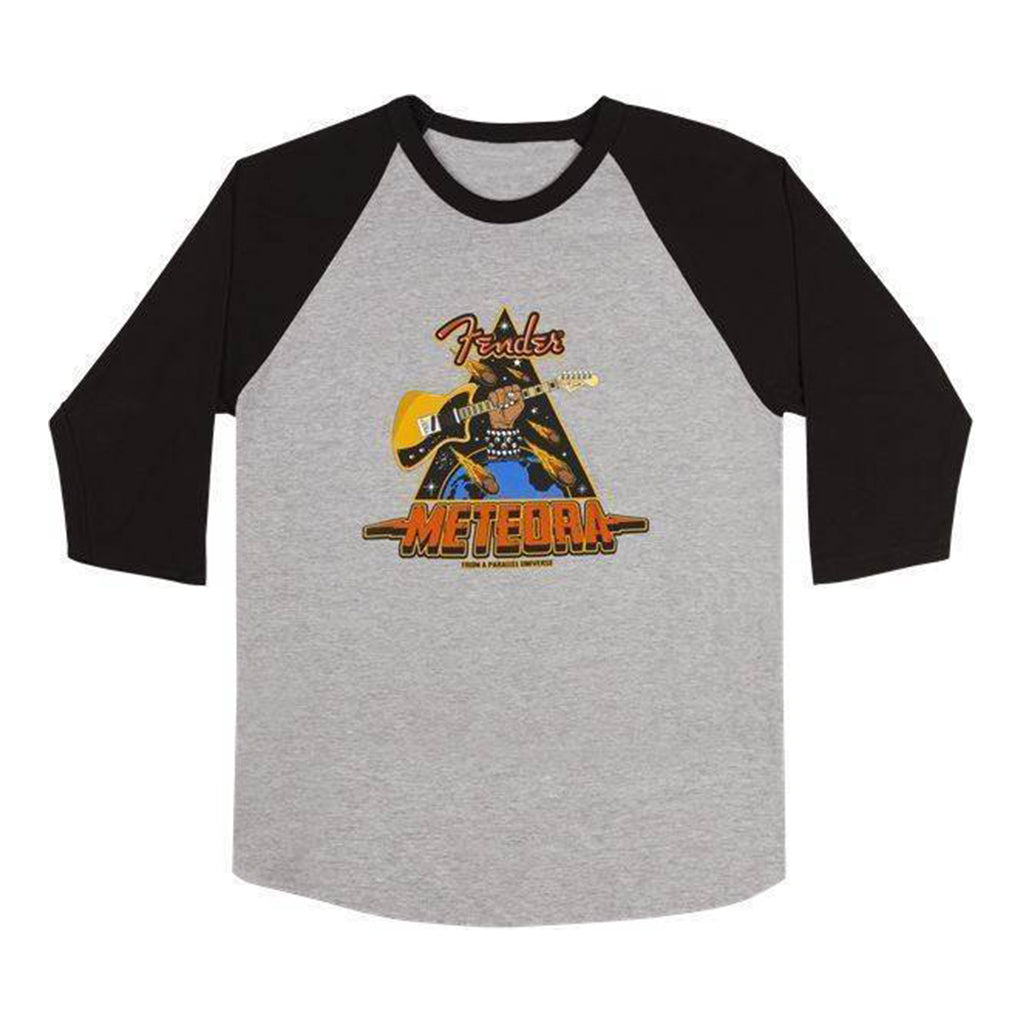 Fender - Meteora Raglan - Grey and Black - Large