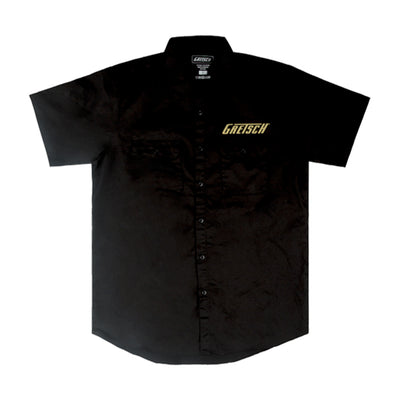 Gretsch - Work Shirt - Professional Series - Black - Small