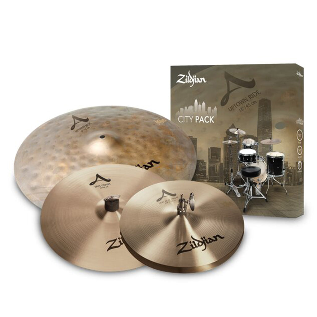 "Zildjian - A Zildjian - ""The City Pack"" - 12"" 14"" 18"""