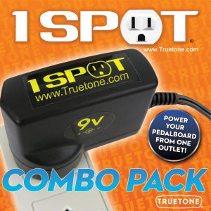 1 Spot 9v Power Supply Combo Pack