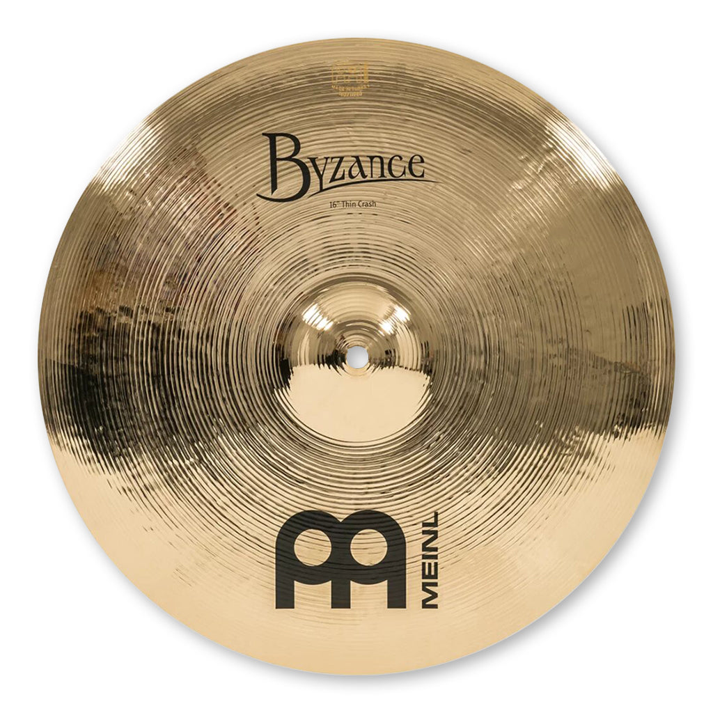"Meinl - Byzance Brilliant - 16"" Thin Crash"