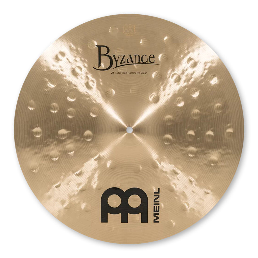"Meinl - Byzance Traditional - 20"" Extra Thin Hammered Crash"