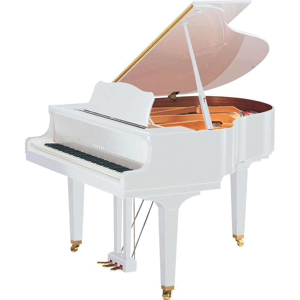 Yamaha GB1KPWH Baby Grand Piano - Polished White