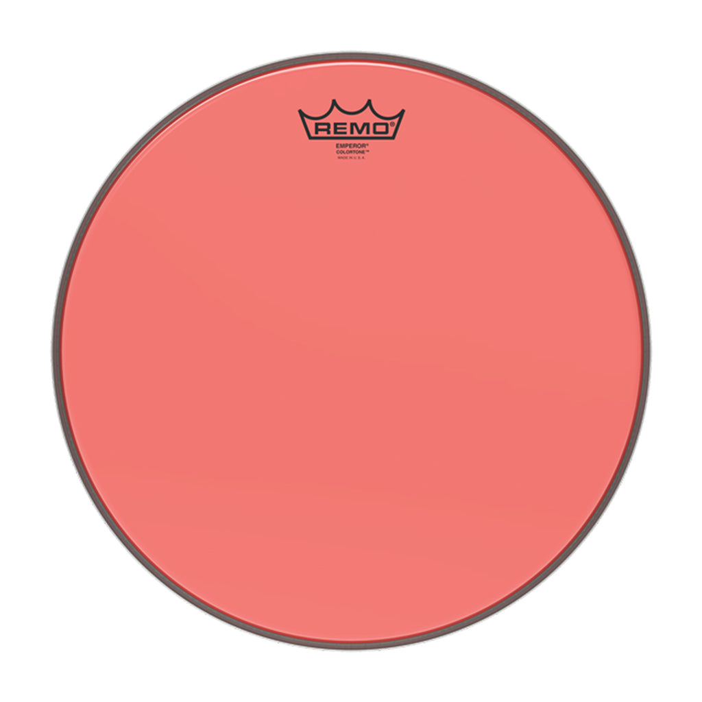 "Remo - 13"" - Emperor Colortone Red"